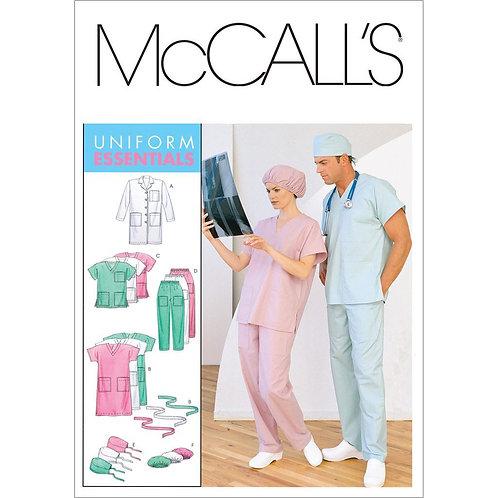 McCall`s M6107 Berufskleidung