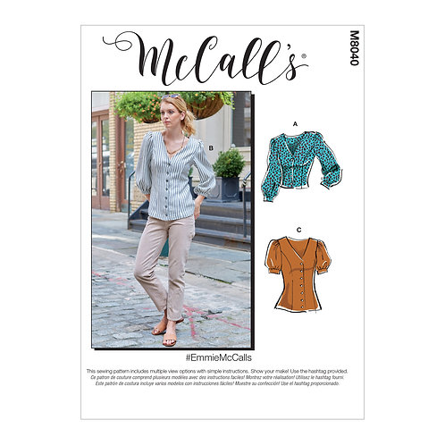 McCall`s M8040 Bluse
