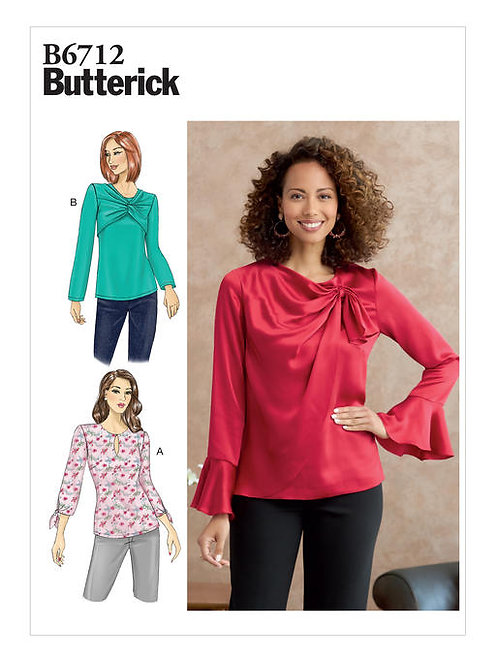 Butterick B6712 lockere Bluse