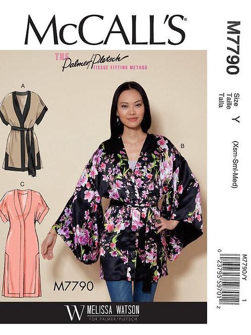 McCall`s M7790 Kimono