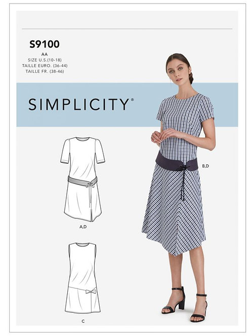 Simplicity 9100 Kleid
