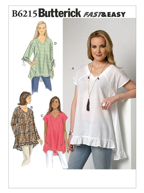 Butterick B6215 lockeres Top