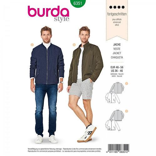 Burda 6351 klassische Blousonjacke