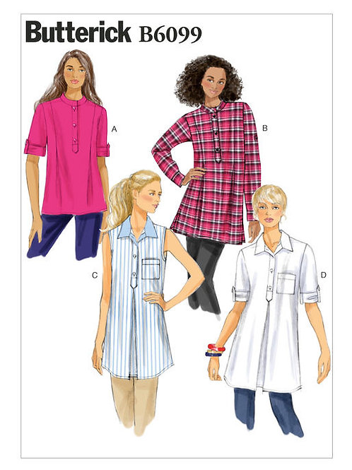 Butterick B6099 lockere Bluse