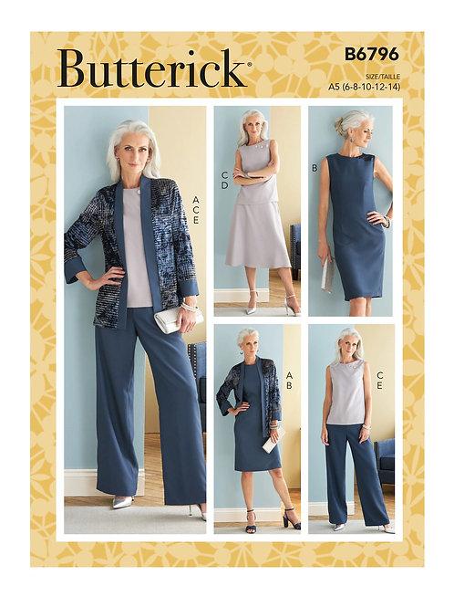 Butterick B6796 Kombination