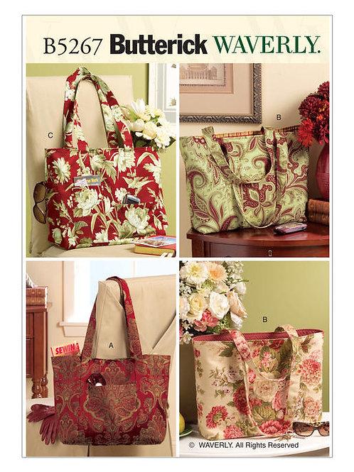 Butterick B6527 Shoppingtasche