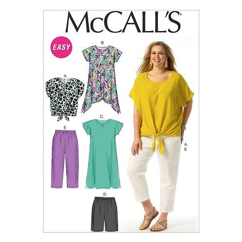 McCall`s M6971 Shirt,Hose und Kleid