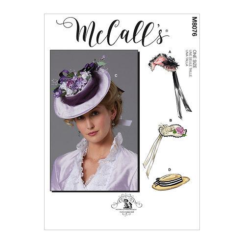McCall's 8076 Historische Hüte