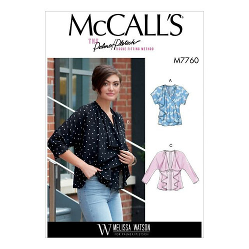 McCall`s M7760 Bluse