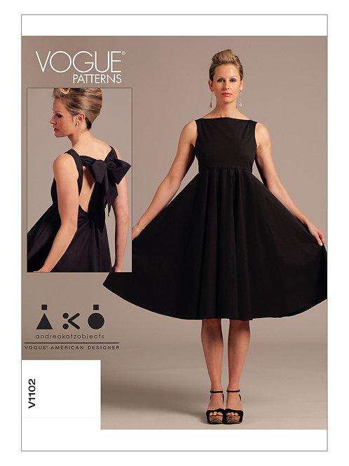 Vogue V1381 Designerkleid by Andrea Katz Objects