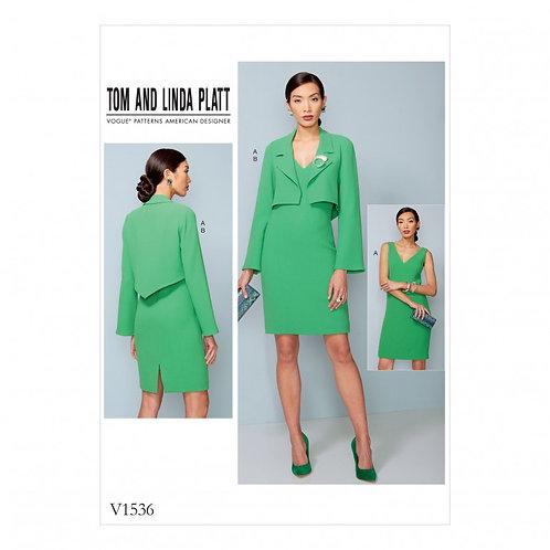 Vogue V1536 Kleid & Jacke by Tom and Linda Platt