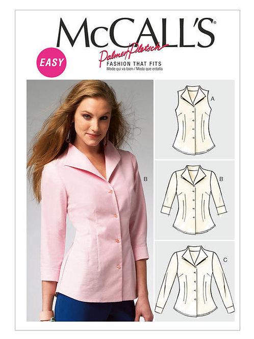 McCall's 6750 klassische Bluse
