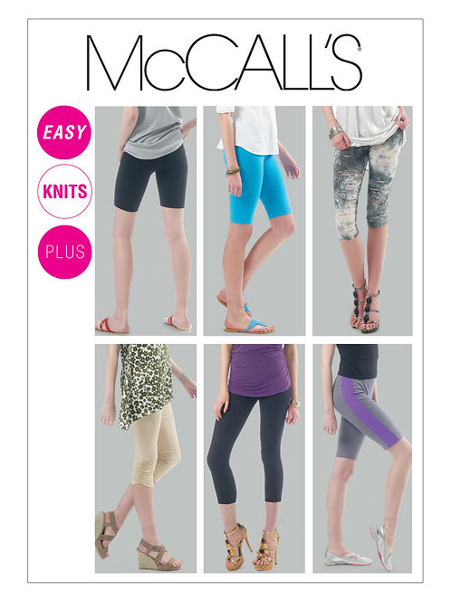 McCall's 6360 Leggings