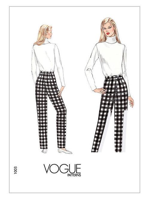 Vogue V1003 legere Karottenhose