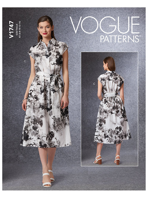 Vogue V1747 Sommerkleid
