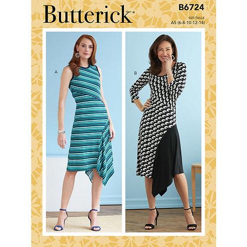 Butterick B6724 Kleid