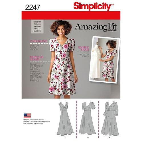 Simplicity 2247 Sommerkleid