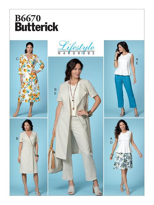 Butterick B6670 Wardrobe