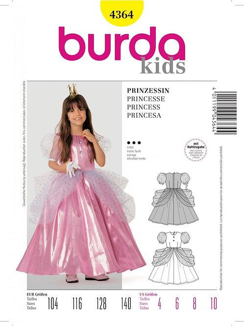 Burda 4364 Prinzessin