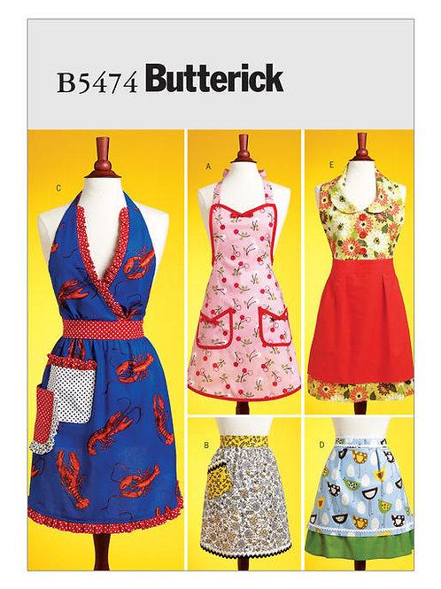 Butterick B6671 Damen- Schürzen