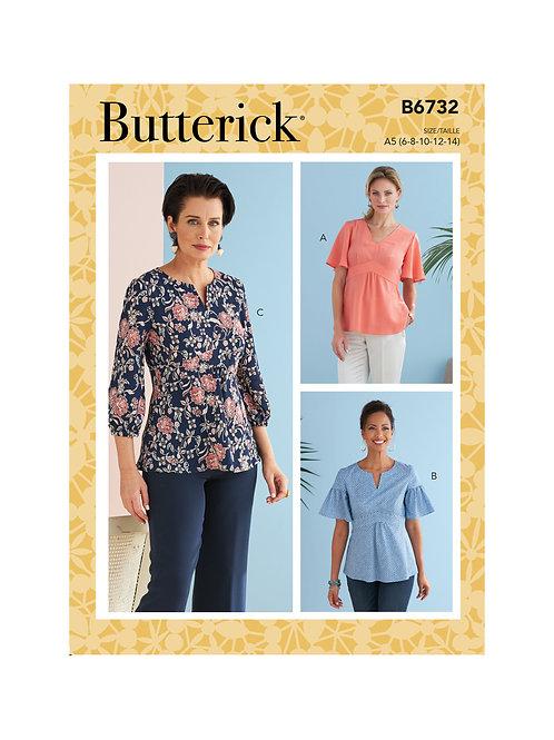 Butterick B6732 Bluse