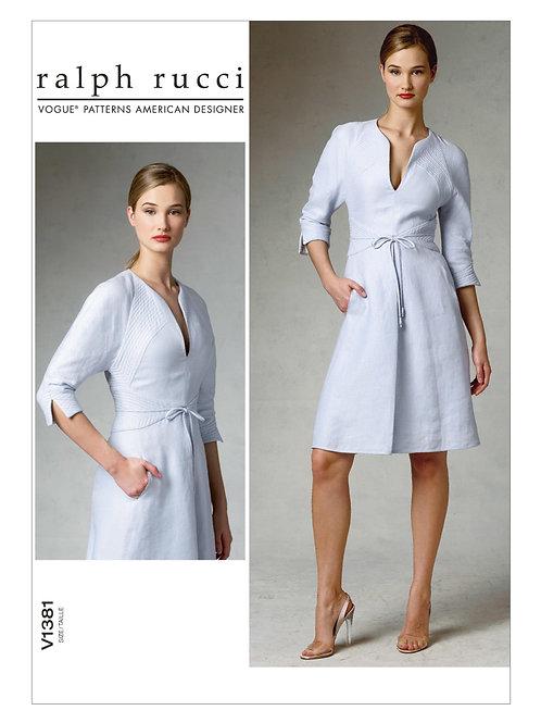 Vogue V1381 Designerkleid by Ralph Rucci