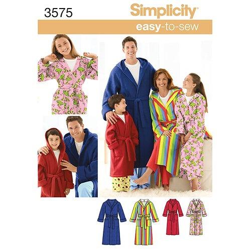 Simplicity 3575 Bademantel