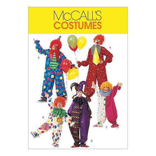 McCall`s M6142 Clown