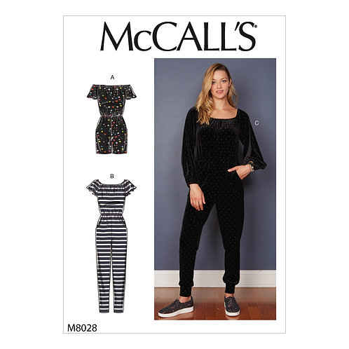 McCall`s M8028 Overall