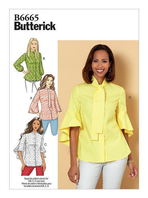 Butterick B6665 Hemdbluse