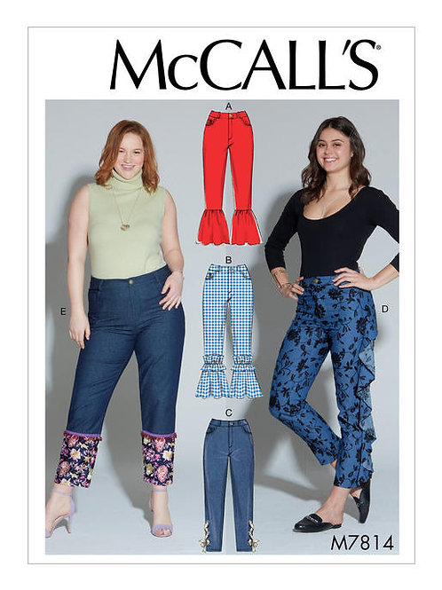 McCall's 7814 Hose mit Beinvarianten