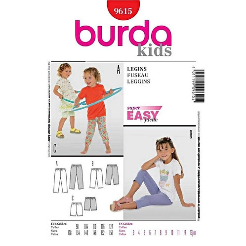 Burda 9615 lässige Leggings