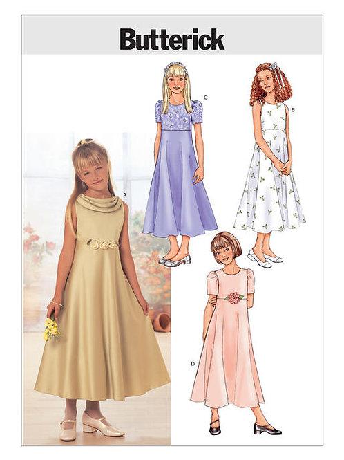 Butterick B3714 Kleid mit erhöhter Taille