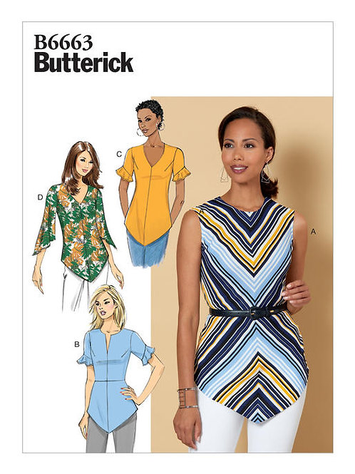 Butterick B6663 tailliertes Top