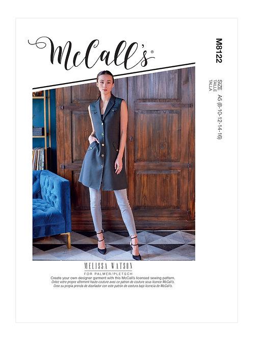 McCall's 8122 Kleid/Weste