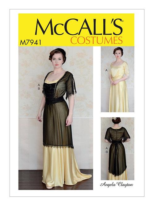 McCall`s M7941 Historisches Kleid