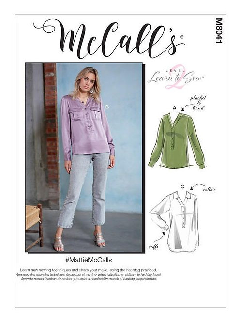 McCall`s M8041 Bluse