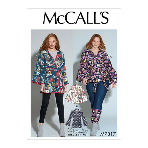McCall`s M7817 Bluse