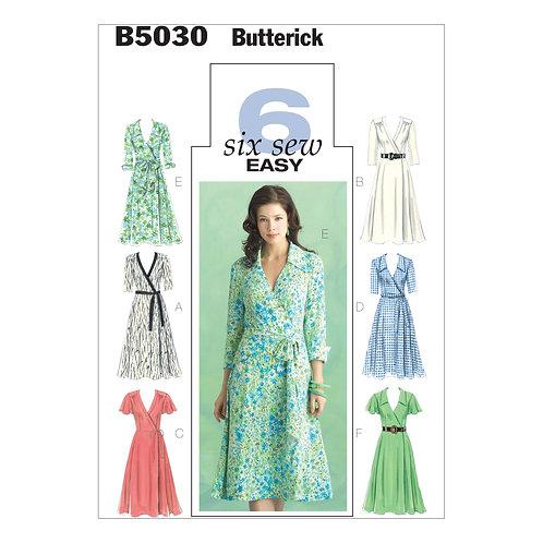 Butterick B5030 Wickelkleid