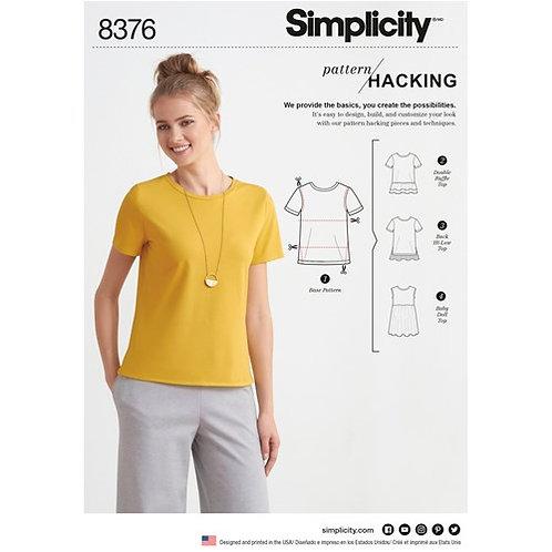 Simplicity 8376 Kreativ - Shirt