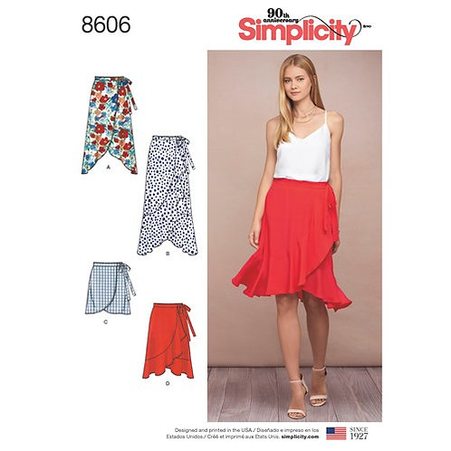 Simplicity 8606 Wickelrock