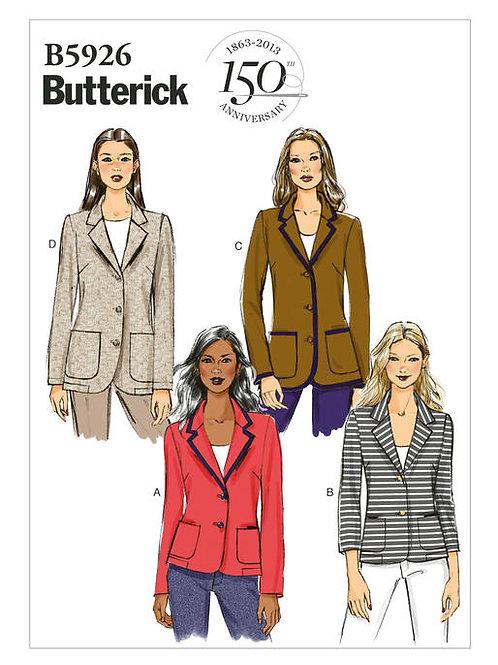 Butterick B5926 Blazer
