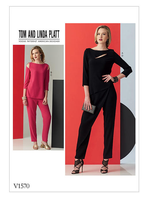 Vogue V1570 Hose & Top mit Variationen by Tom and Linda Platt