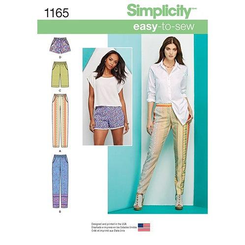 Simplicity 1165 Hose & Shorts
