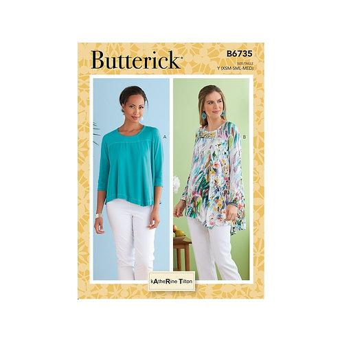 Butterick B6735 Bluse