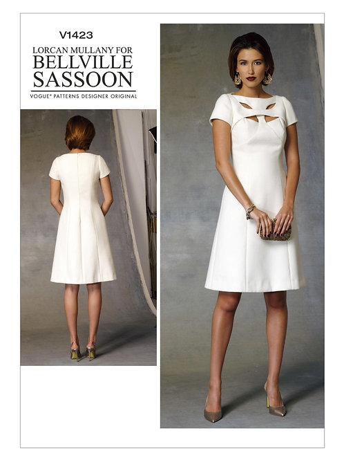 Vogue V1423 extravagantes Abendkleid by Bellville Sassoon