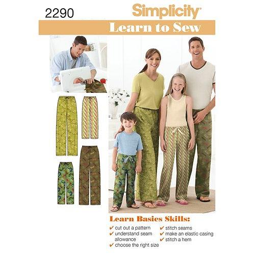 Simplicity 2290 Lounge - Hose