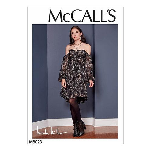 McCall`s M8023 Kleid