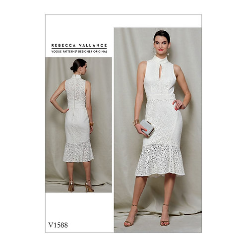 Vogue V1588  by Rebecca Vallance