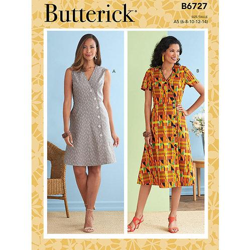 Butterick B6727 Sommerkleid